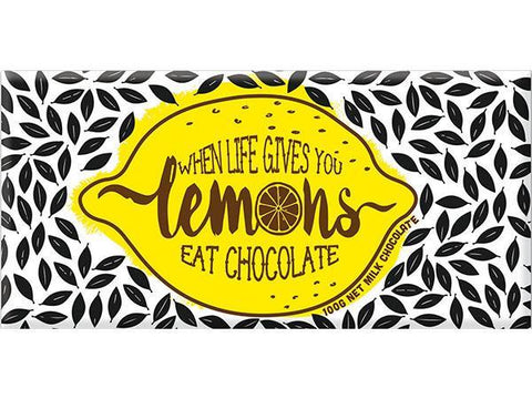 Bellaberry When Life Gives You Lemons Milk Chocolate 100G