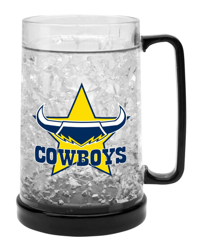 NRL EZY FREEZE MUG COWBOYS 480ML