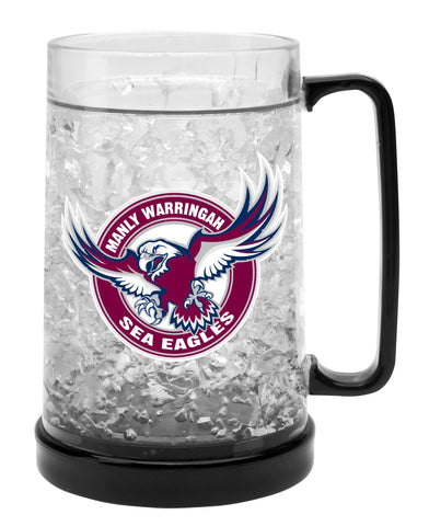 NRL EZY FREEZE MUG MANLY 480ML