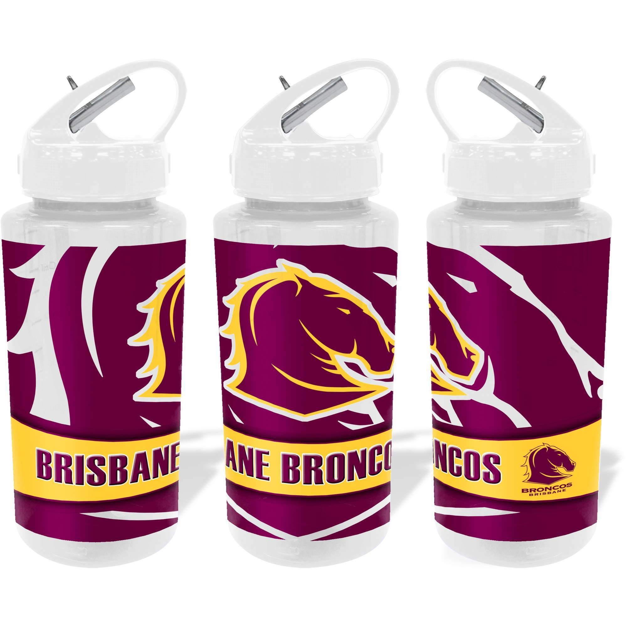 NRL WATER BOTTLE TRITAN 700ML BRONCOS