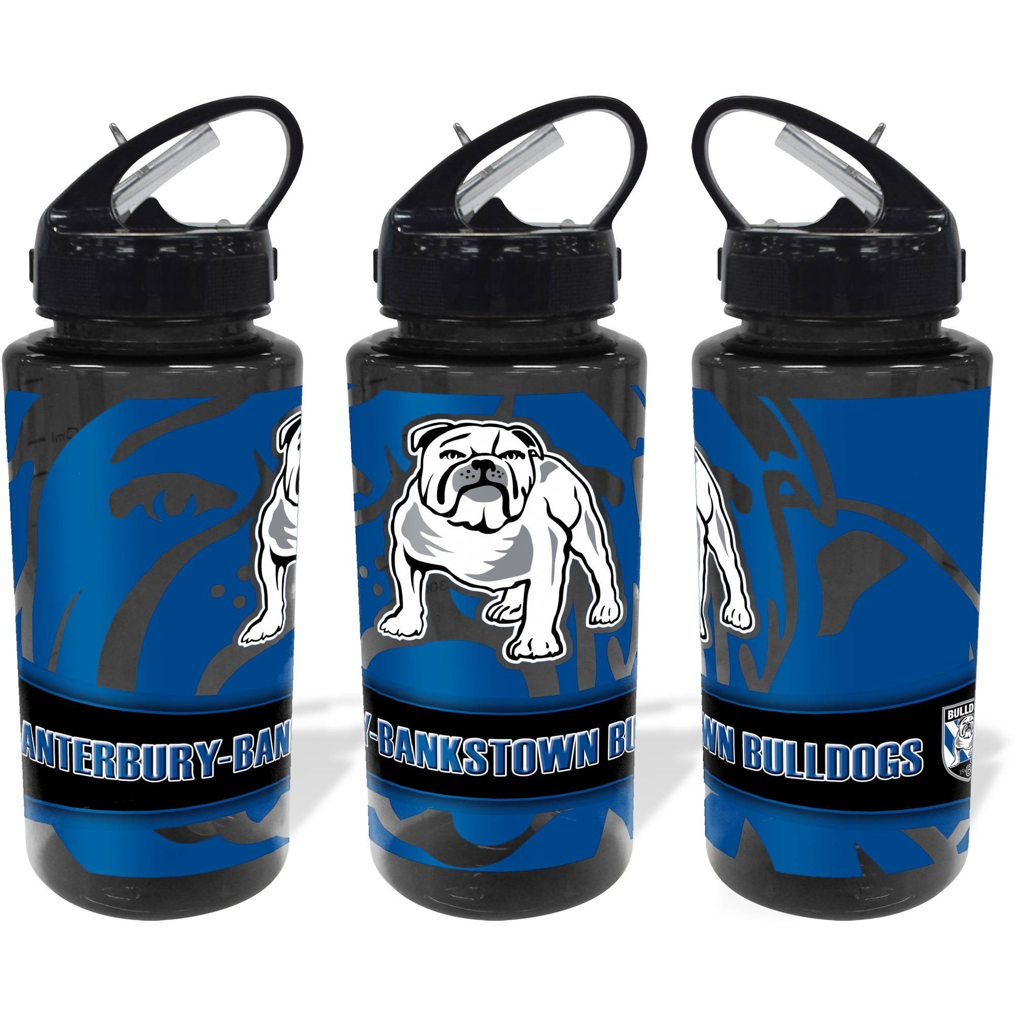 NRL WATER BOTTLE TRITAN 700ML BULLDOGS