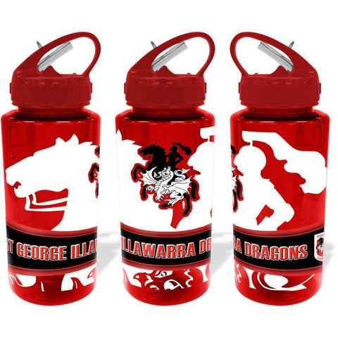 NRL WATER BOTTLE TRITAN 700ML DRAGONS