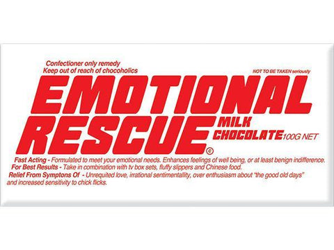Bellaberry Emotional Rescue Milk Chocolate 100G