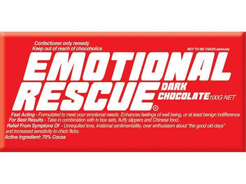 Bellaberry Emotional Rescue Dark Chocolate 100G
