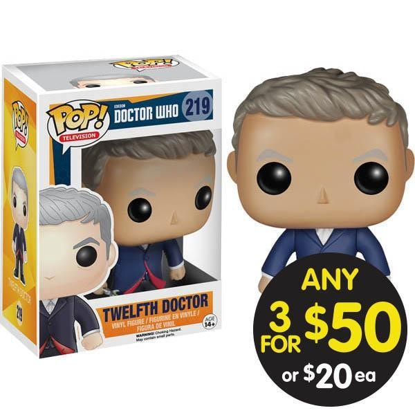 POP VINYL DR WHO 12TH DOCTOR