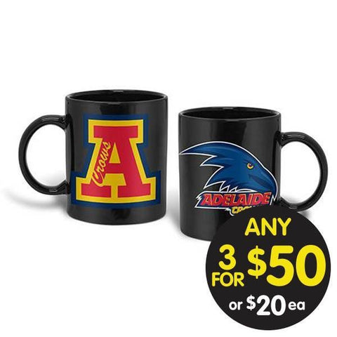 AFL COFFEE MUG GIANT 900ML ADELAIDE