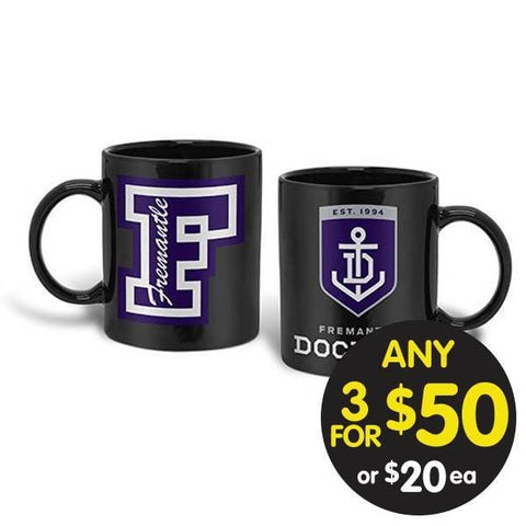 AFL COFFEE MUG GIANT 900ML FREMANTLE