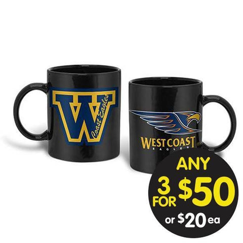 AFL COFFEE MUG GIANT 900ML WEST COAST