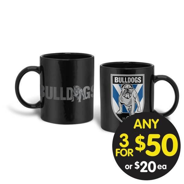 NRL COFFEE MUG GIANT 900ML BULLDOGS