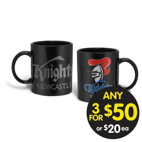 NRL COFFEE MUG GIANT 900ML KNIGHTS