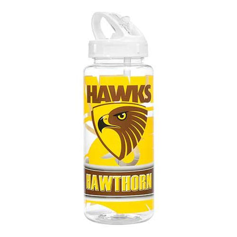 AFL WATER BOTTLE HAWTHORN