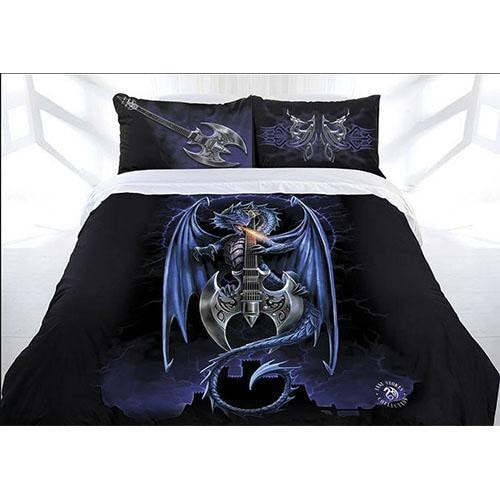 Anne Stokes Quilt Cover Powerchord Lad Queen