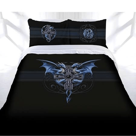 Anne Stokes Quilt Cover Dragon Duo Queen