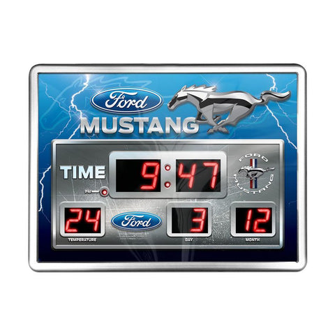 FORD MUSTANG DIGITAL CLOCK