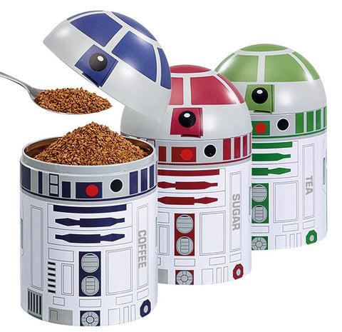 STAR WARS STORAGE CONTAINERS SET 3 DROID