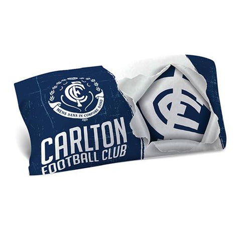 AFL PILLOW CASE 73X48CM CARLTON