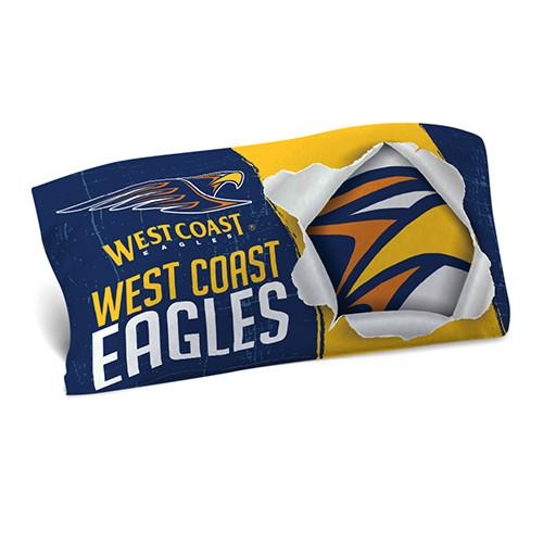 AFL PILLOW CASE 73X48CM WEST COAST