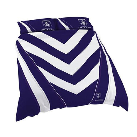 AFL FREMANTLE QUEEN QUILT COVER