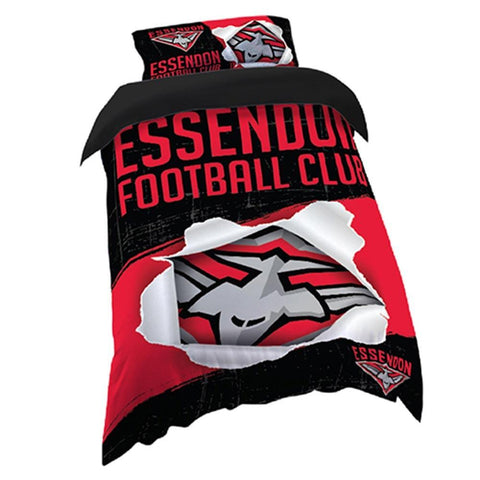 AFL QUILT COVER SINGLE SIZE ESSENDON