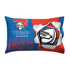 NRL PILLOW CASE 73X48CM KNIGHTS