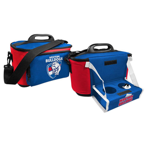 AFL COOLER BAG WITH DROP TRAY FLAT PACK BULLDOGS