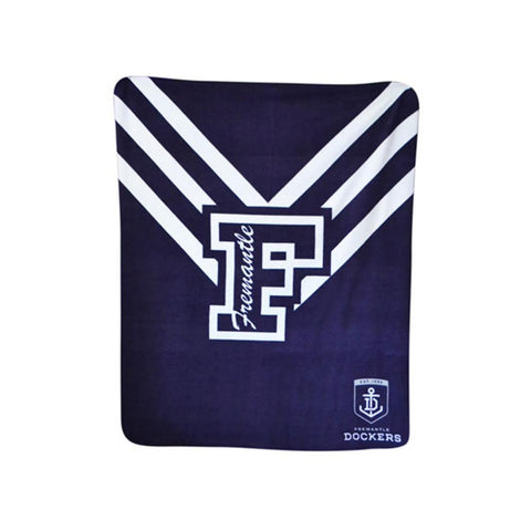 AFL POLAR FLEECE RUG FREMANTLE