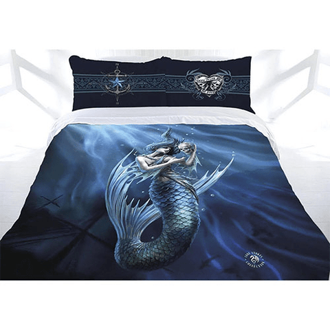 Anne Stokes Quilt Cover Sailors Ruin Queen