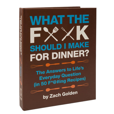 BOOK WTF TO MAKE FOR DINNER