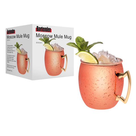 Bartender Copper Plated Moscow Mule Mug