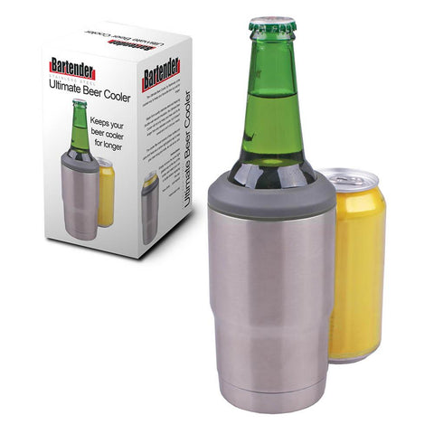 Bartender Ultimate Stainless Steel Beer Cooler