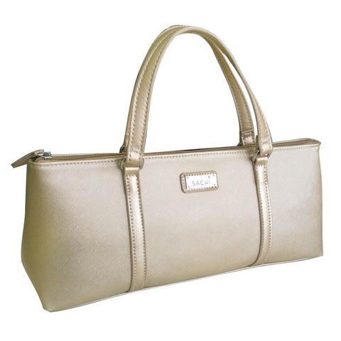 Sachi Insulated Wine Purse Champagne Gold