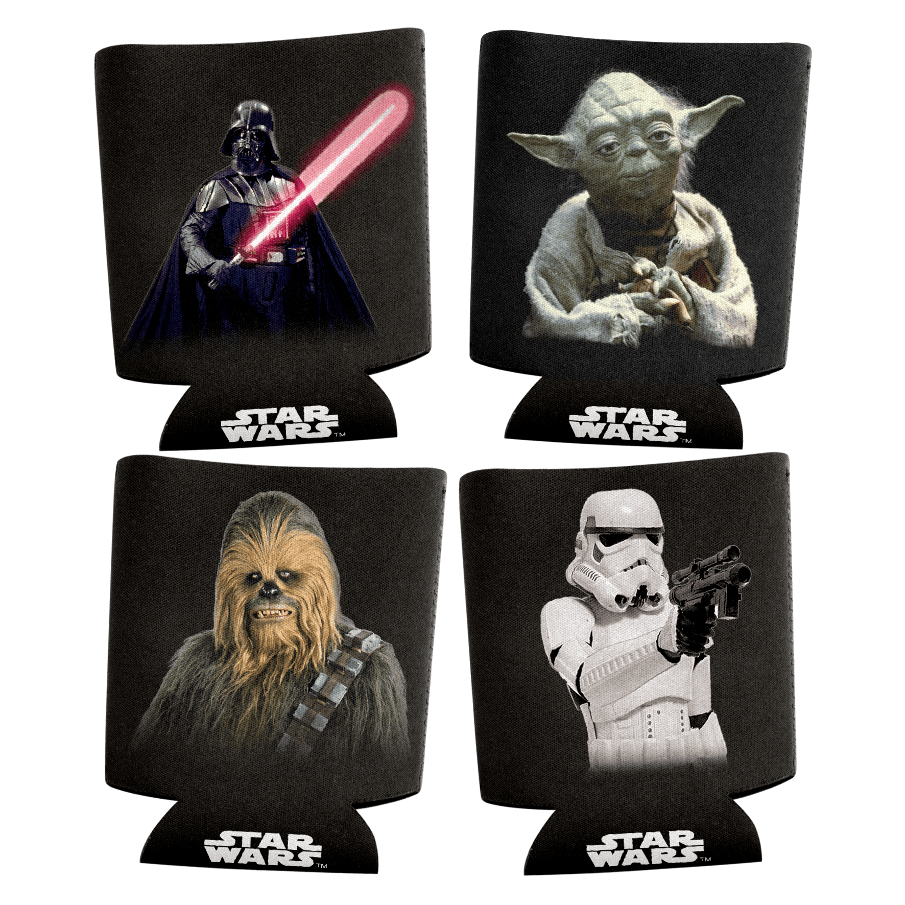 Star Wars Can Coolers Zoom Set Of 4