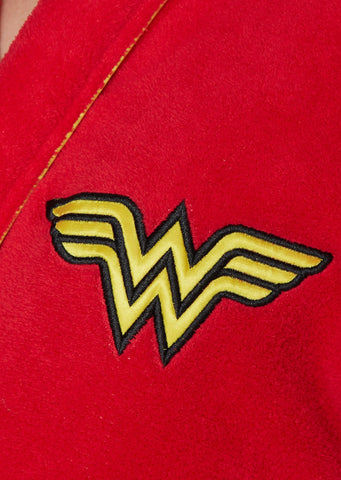 DC Bath Robe Wonder Woman Ladies