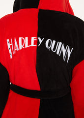DC  Bath Robe Harley Quinn Ladies