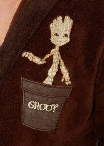 Guardians Of The Galaxy  Bath Robe Baby Groot