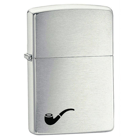 Zippo - Pipe Lighter Brushed Chrome