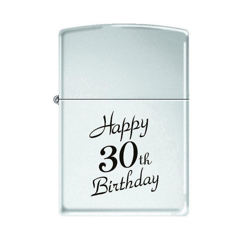 Zippo - Happy 30Th Birthday