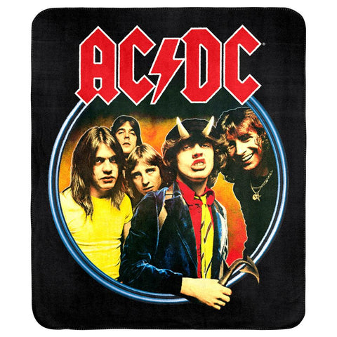ACDC Throw Rug Highway To Hell