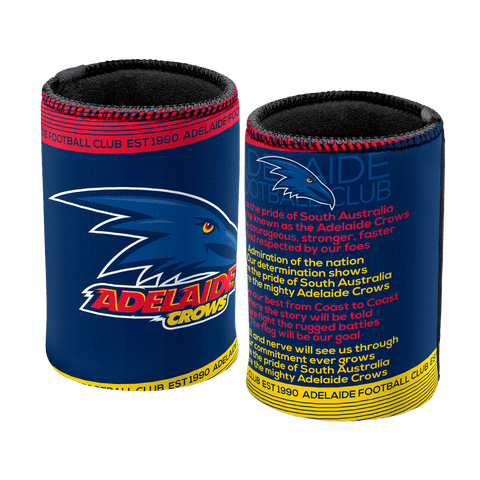 AFL Adelaide Crows 2018 Can Cooler Team Song