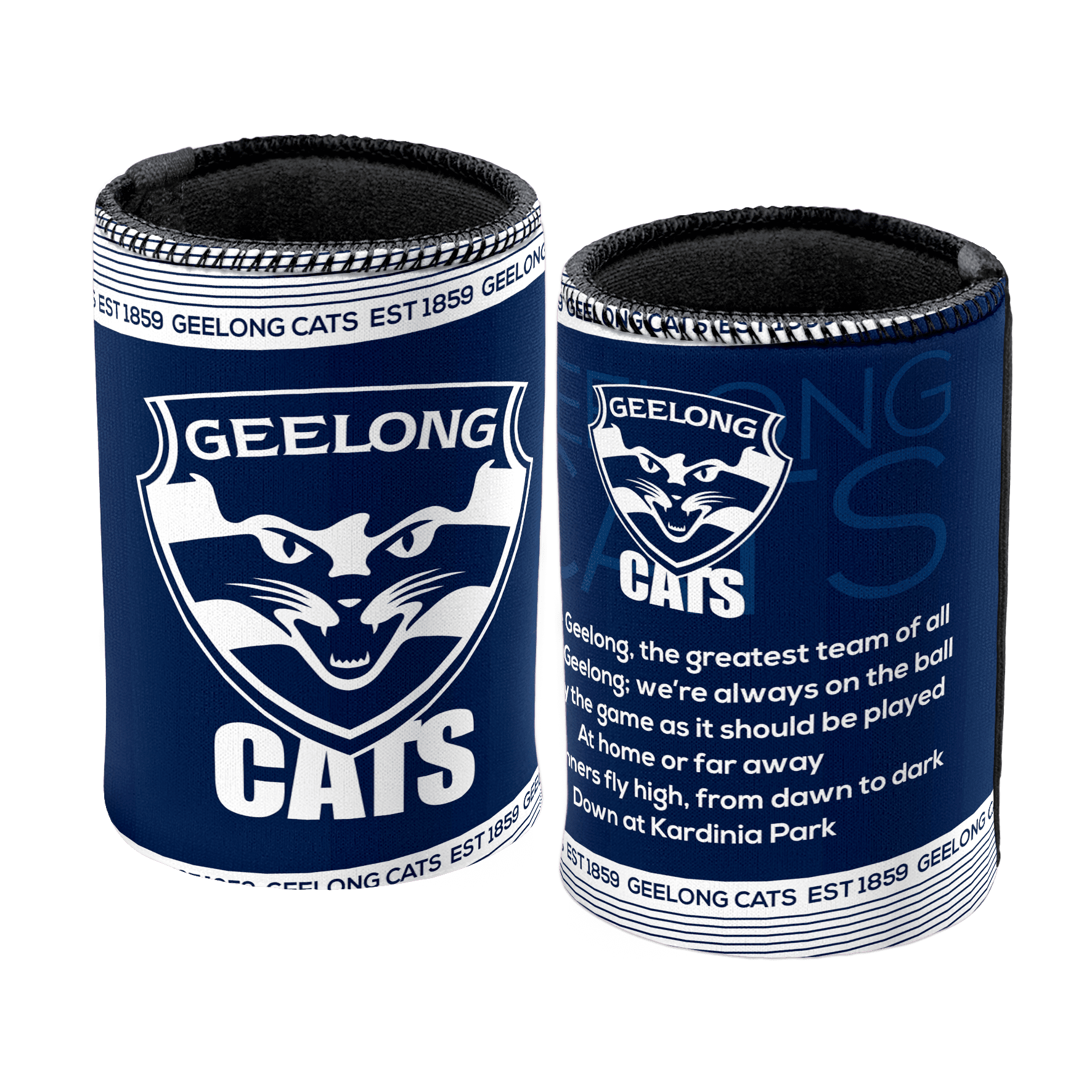 AFL Can Cooler Team Song Geelong 2018