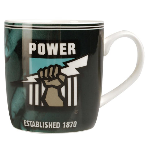 AFL PORT ADELAIDE COFFEE MUG