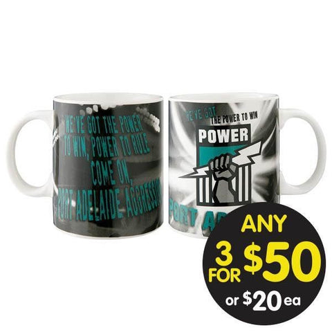AFL Port Adelaide Musical Mug