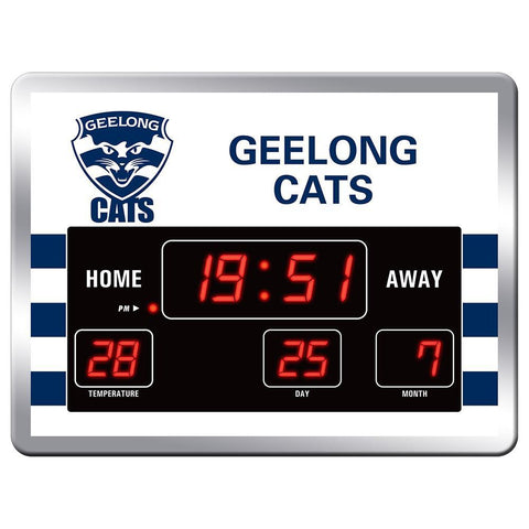 Geelong Cats Scoreboard Clock