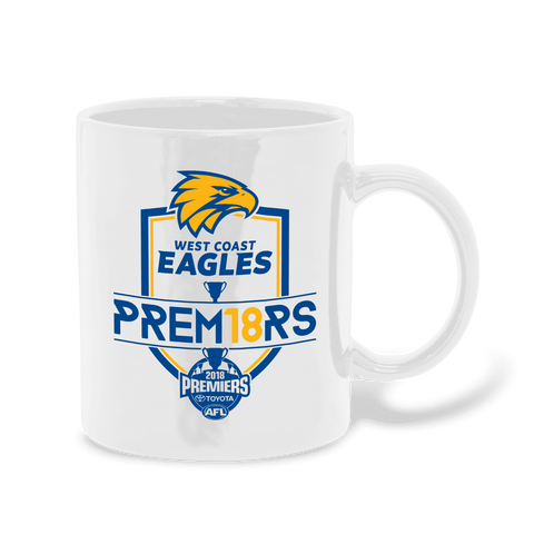 AFL West Coast Eagles Premier 2018 Team Mug
