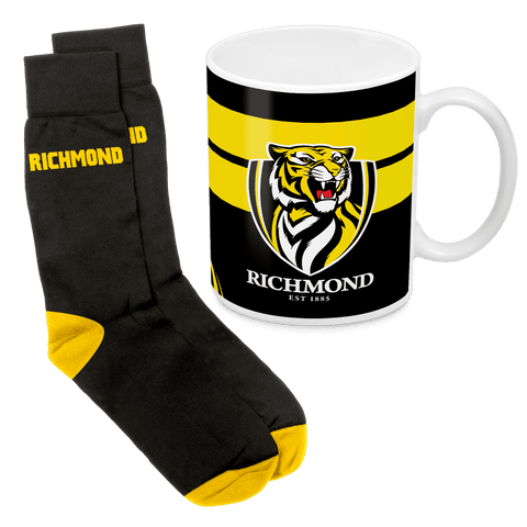 AFL Mug & Sock Gift Pack Richmond