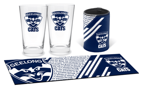 AFL Bar Essentials Gift Pack Geelong