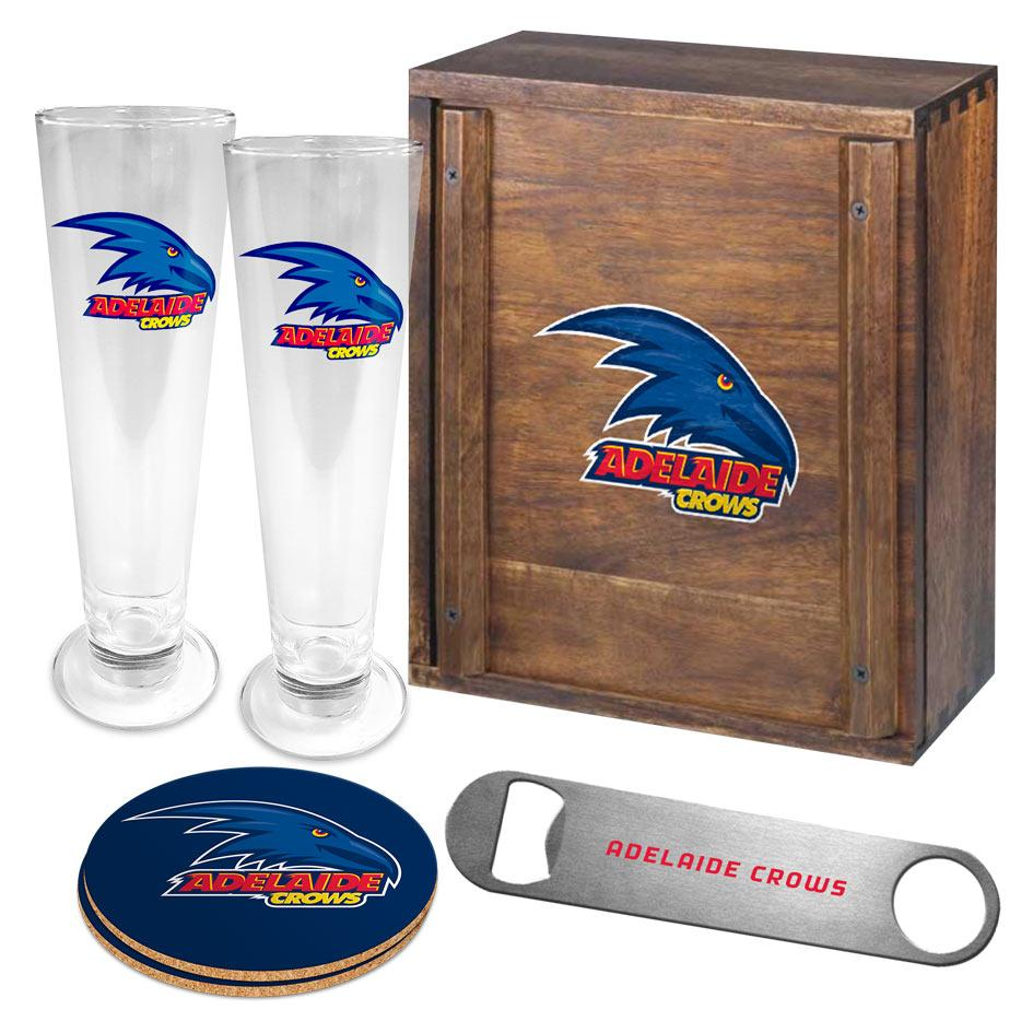 AFL Adelaide Crows Collector Drink Set