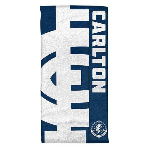 AFL Beach Towel Carlton