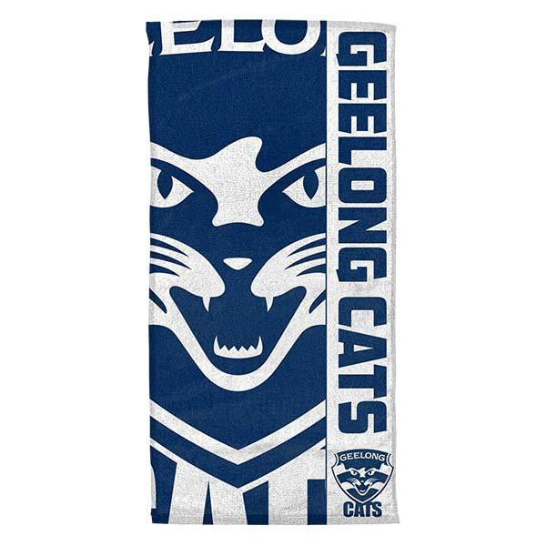 AFL Beach Towel Geelong