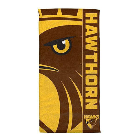 AFL Beach Towel Hawthorn